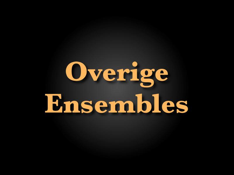 NMP - Overige Ensembles
